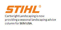 Cartwright Landscaping is now providing a seasonal landscaping advice column for Stihl USA